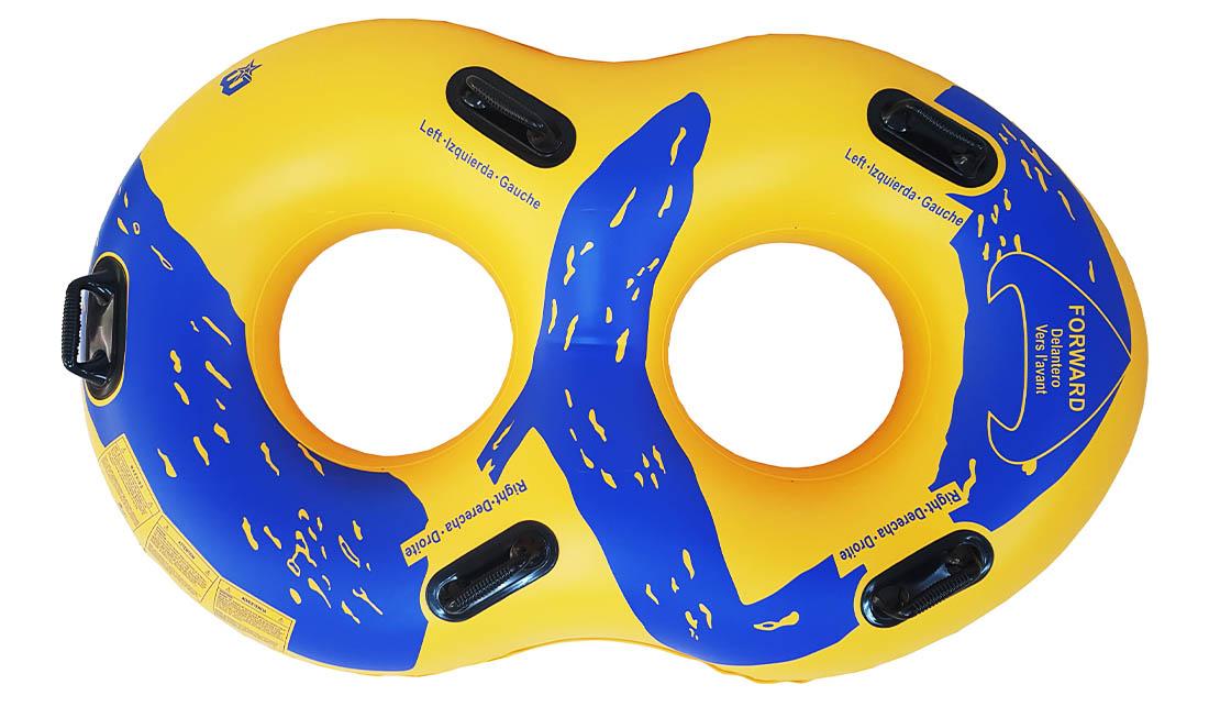 48'' DOUBLE WATER PARK SLIDE TUBES - ALESTA MARINE